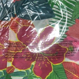 Party Supplies - Tropical Party Plastic Table Cover
